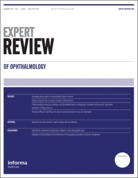 Expert Review of Ophthalmology