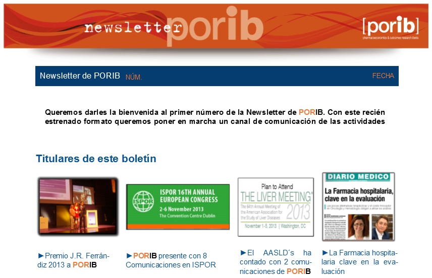 Newsletter PORIB 13
